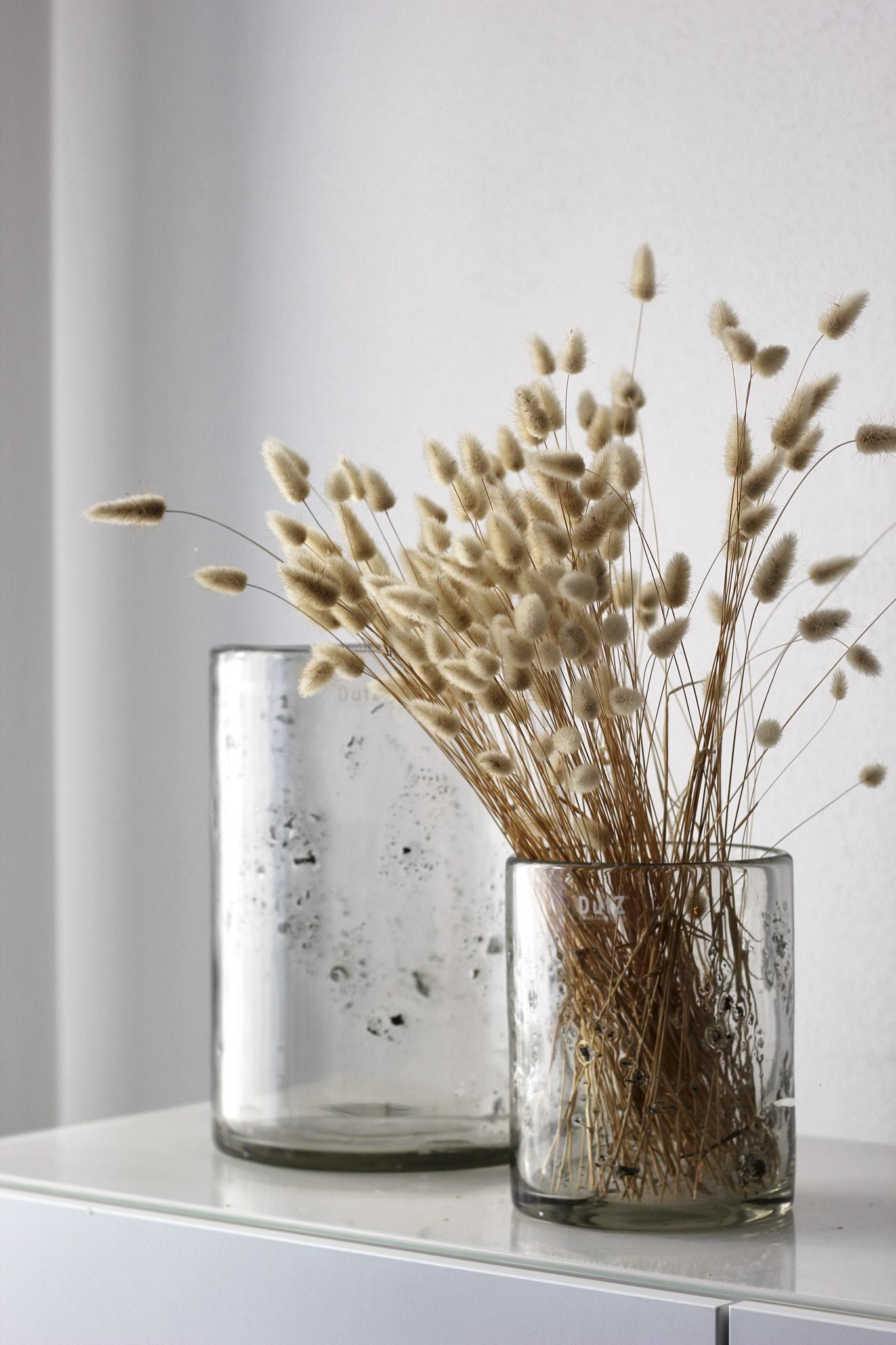 Vase Metallchips