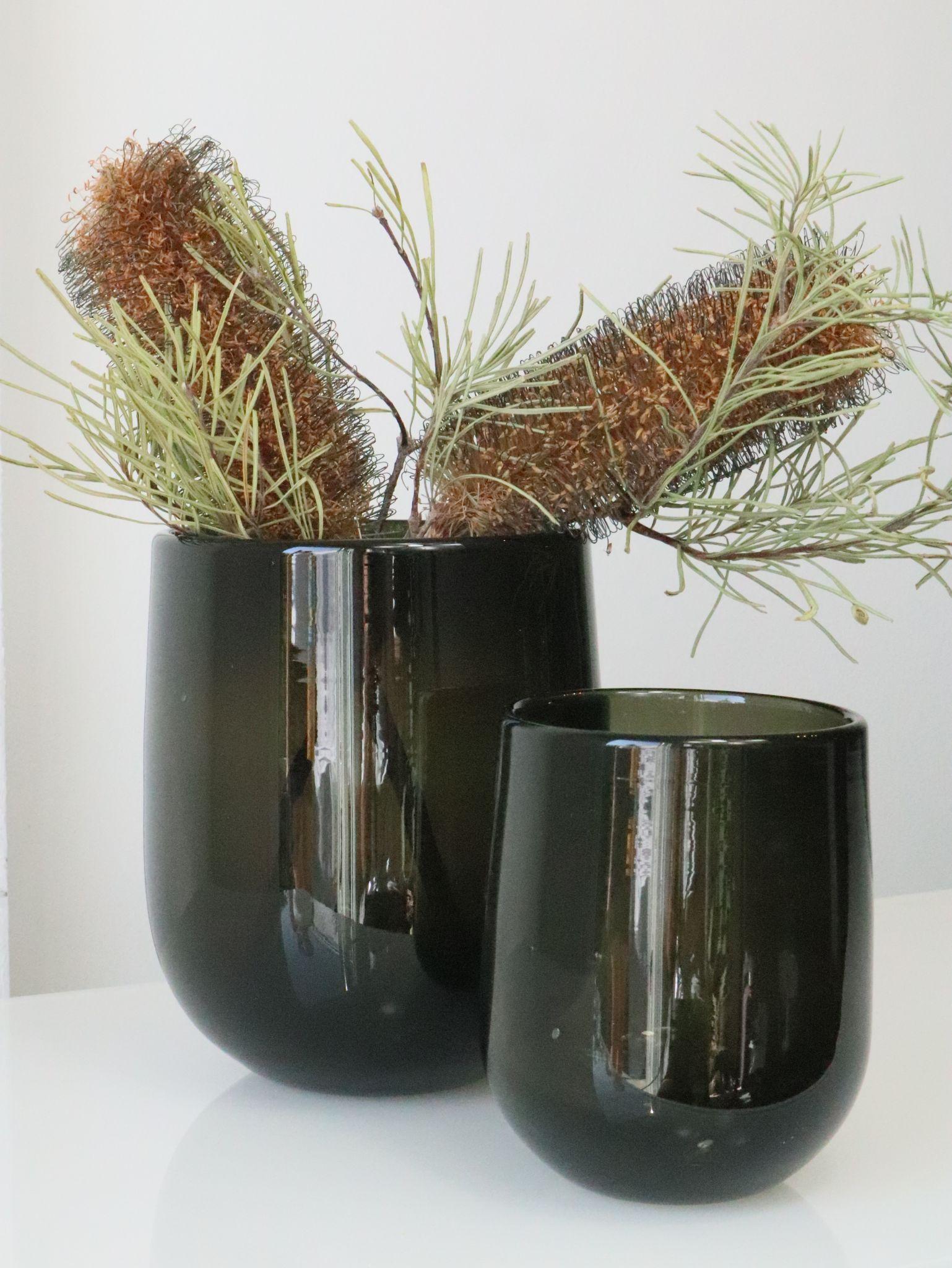 Vase Barrel Rauch